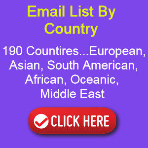 email list by country worldwide email list