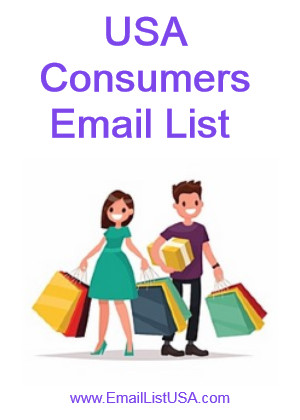 consumer email list usa