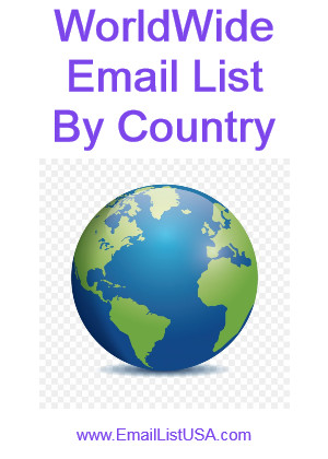worldwide email list