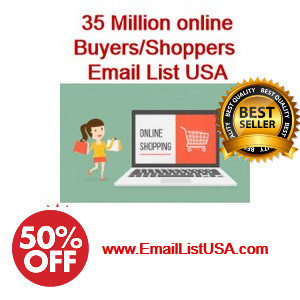 online buyers email list usa