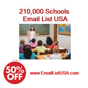 usa schools email list