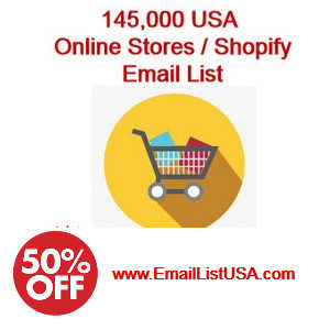 shopify stores email list