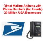 direct mailing list usa
