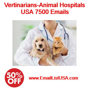 animal hospitals vertinarians email list