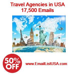 usa travel agencies email address list