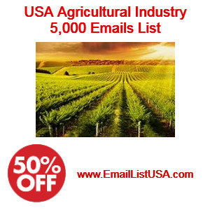 agricultural industry email list
