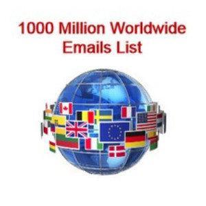 worldwide email list