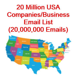 companies email database usa