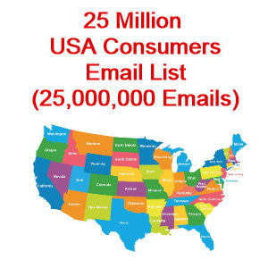 usa consumer email list sale