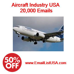 aircraft indsutry email list