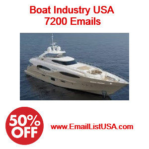 boat indsutry email list