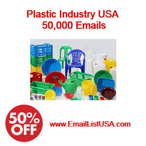 plastic industry email list